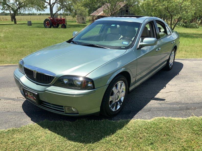 2004 Lincoln LS V8