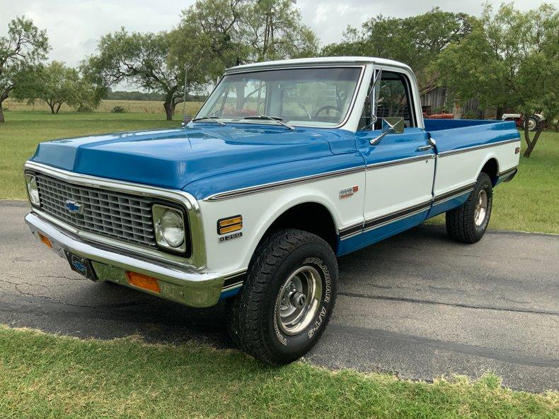 1972 Chevrolet C/K10 4x4, PS, PB, A/C, Auto