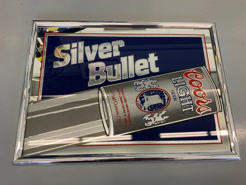 Silver Bullet Coors Light Bar Mirror #2