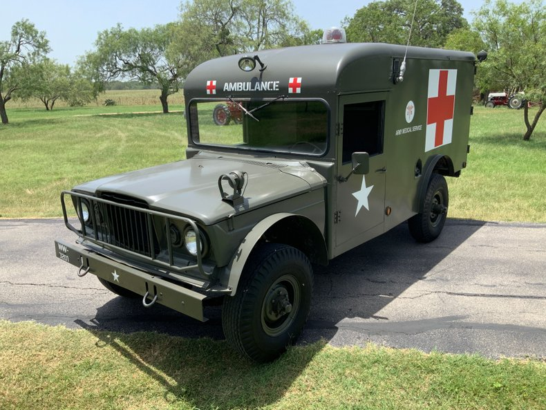 1967 Jeep M725 Ambulance
