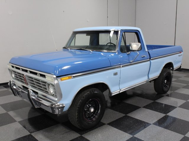 For Sale: 1975 Ford F-100