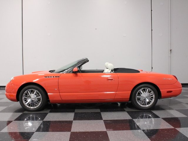 2003 ford thunderbird 007 bond edition