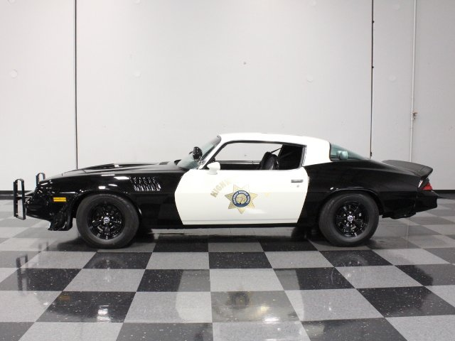 1979 chevrolet camaro z 28 california highway patrol
