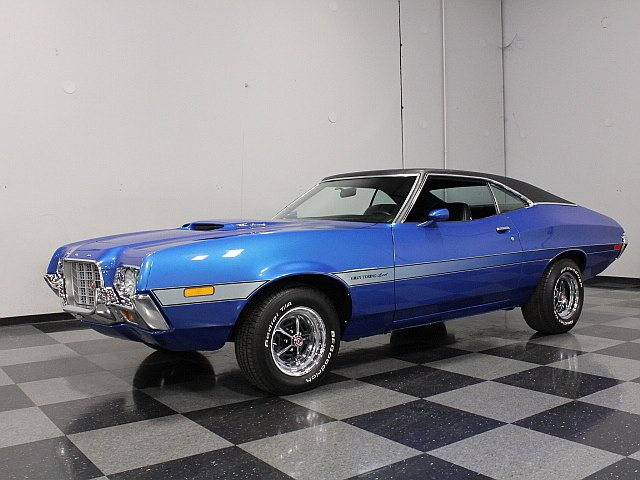 1972 Ford Torino | Streetside Classics - The Nation's Trusted Classic Car Consignment Dealer