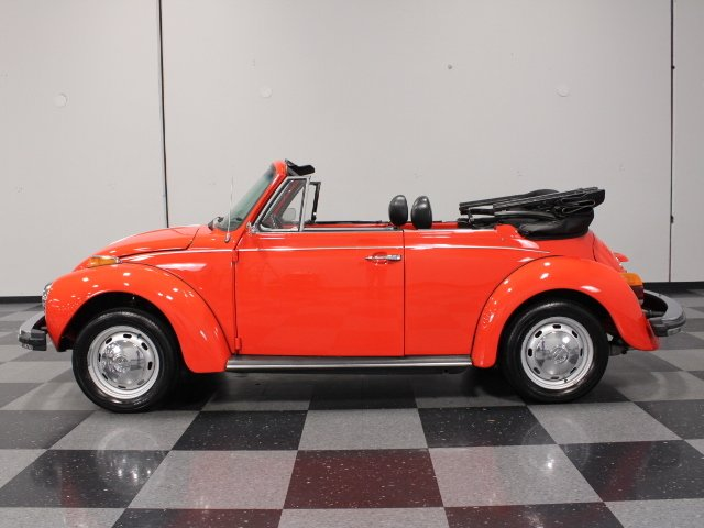 1977 volkswagen super beetle karmann