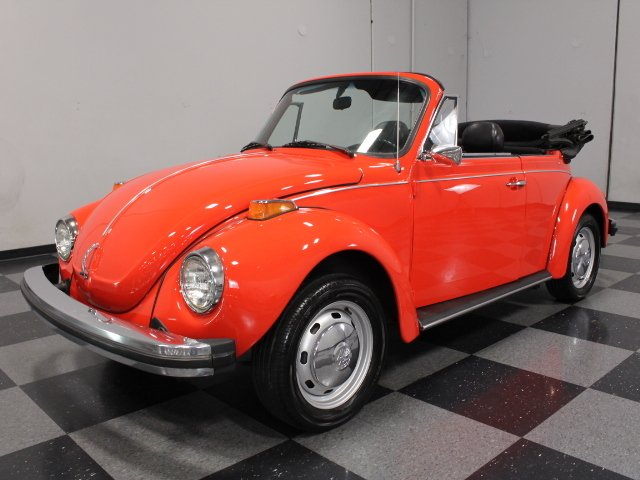 For Sale: 1977 Volkswagen Super Beetle