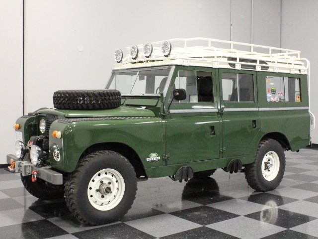 For Sale: 1963 Land Rover Series IIA