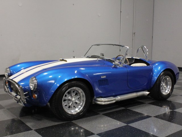 1967 shelby cobra replica