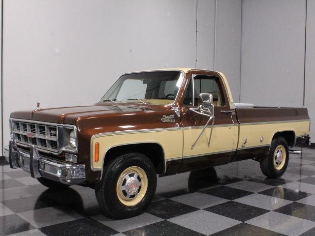 For Sale: 1977 GMC Sierra