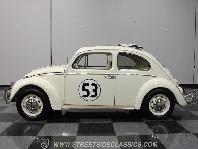 1963 volkswagen beetle herbie ragtop