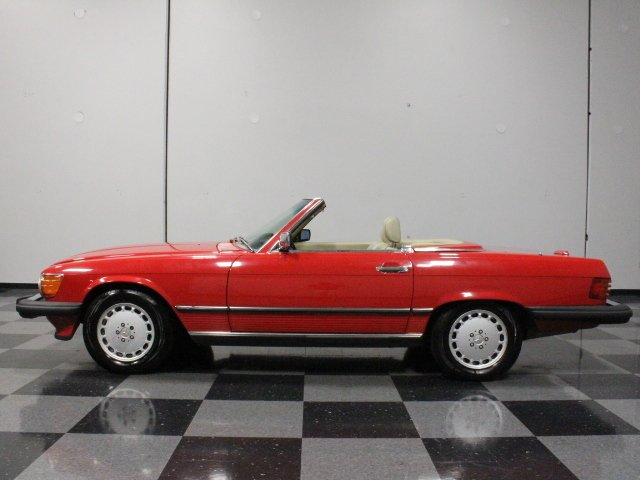1988 mercedes benz 560sl