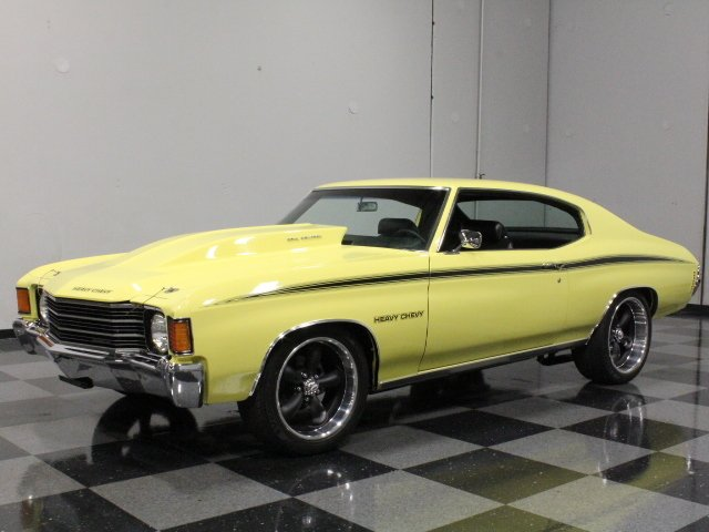 1972 chevrolet chevelle heavy chevy