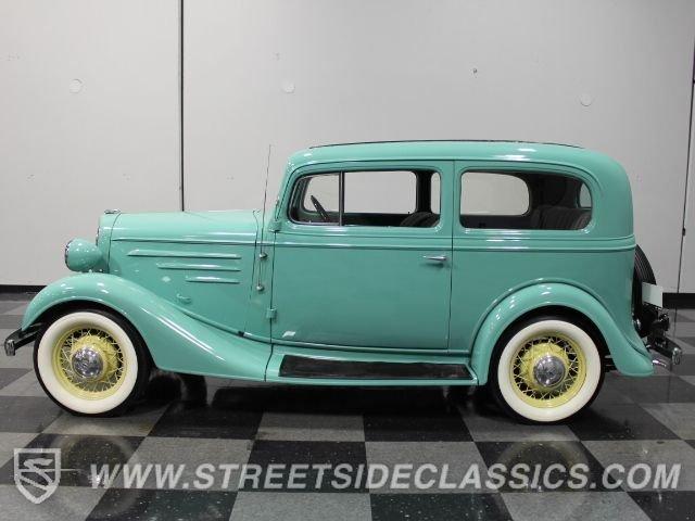1935 chevrolet standard coach