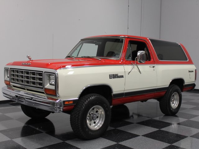 For Sale: 1985 Dodge Ramcharger