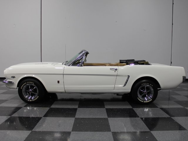 1965 ford mustang t5