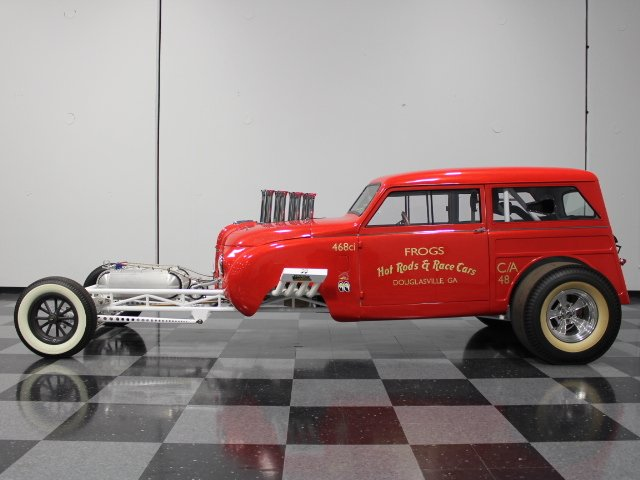 1948 crosley hot rod c a altered
