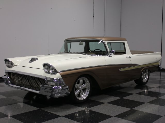 For Sale: 1958 Ford Ranchero