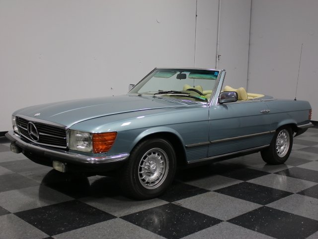 For Sale: 1977 Mercedes-Benz 350SL