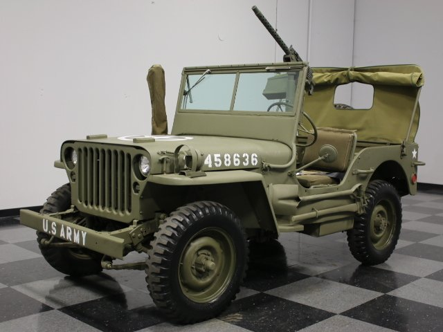 Military Jeep For Sale >> Jeep Willys 1944 1944 Willys Mb Military For Sale In