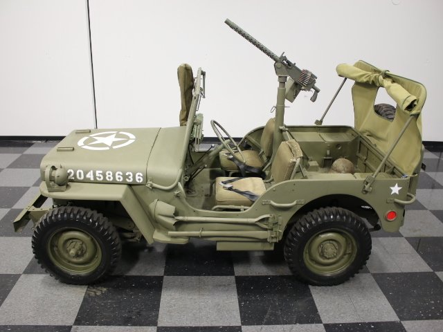 1944 willys military jeep