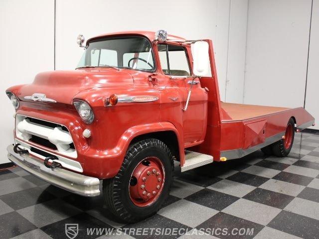 1957 chevrolet 9700 ramp truck