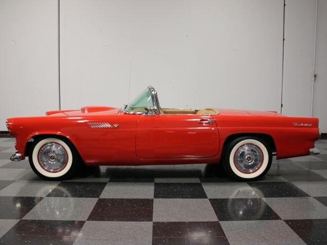 1955 ford thunderbird restomod