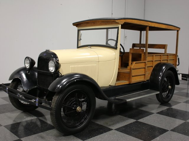 1928 ford model a depot hack