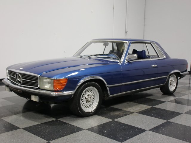 1978 mercedes benz 450slc