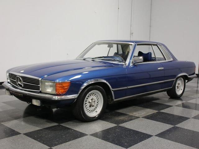 1978 Mercedes-Benz 450SLC | Streetside Classics - The