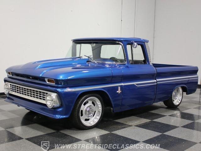 1963 chevrolet c10 restomod