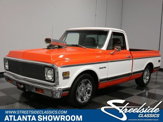 1972 chevrolet c10 supercharged