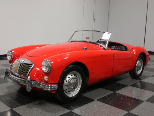 For Sale: 1959 MG MGA
