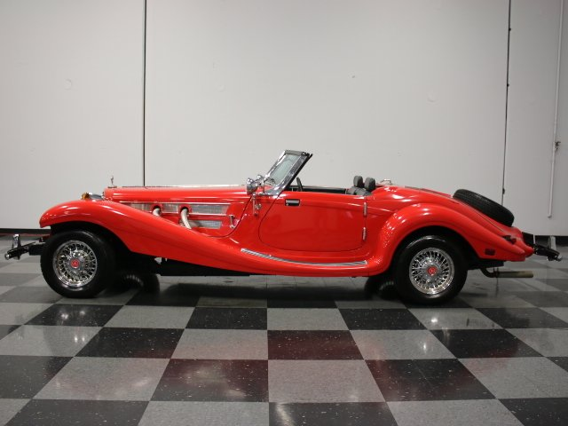 1936 mercedes benz 500k replica