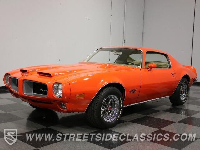 For Sale: 1970 Pontiac Firebird