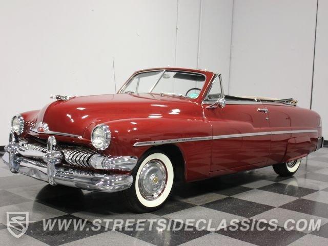 1951 mercury convertible