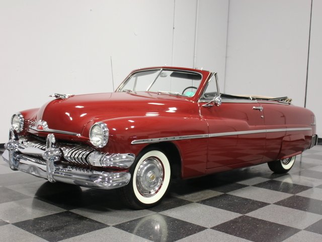 For Sale: 1951 Mercury Convertible