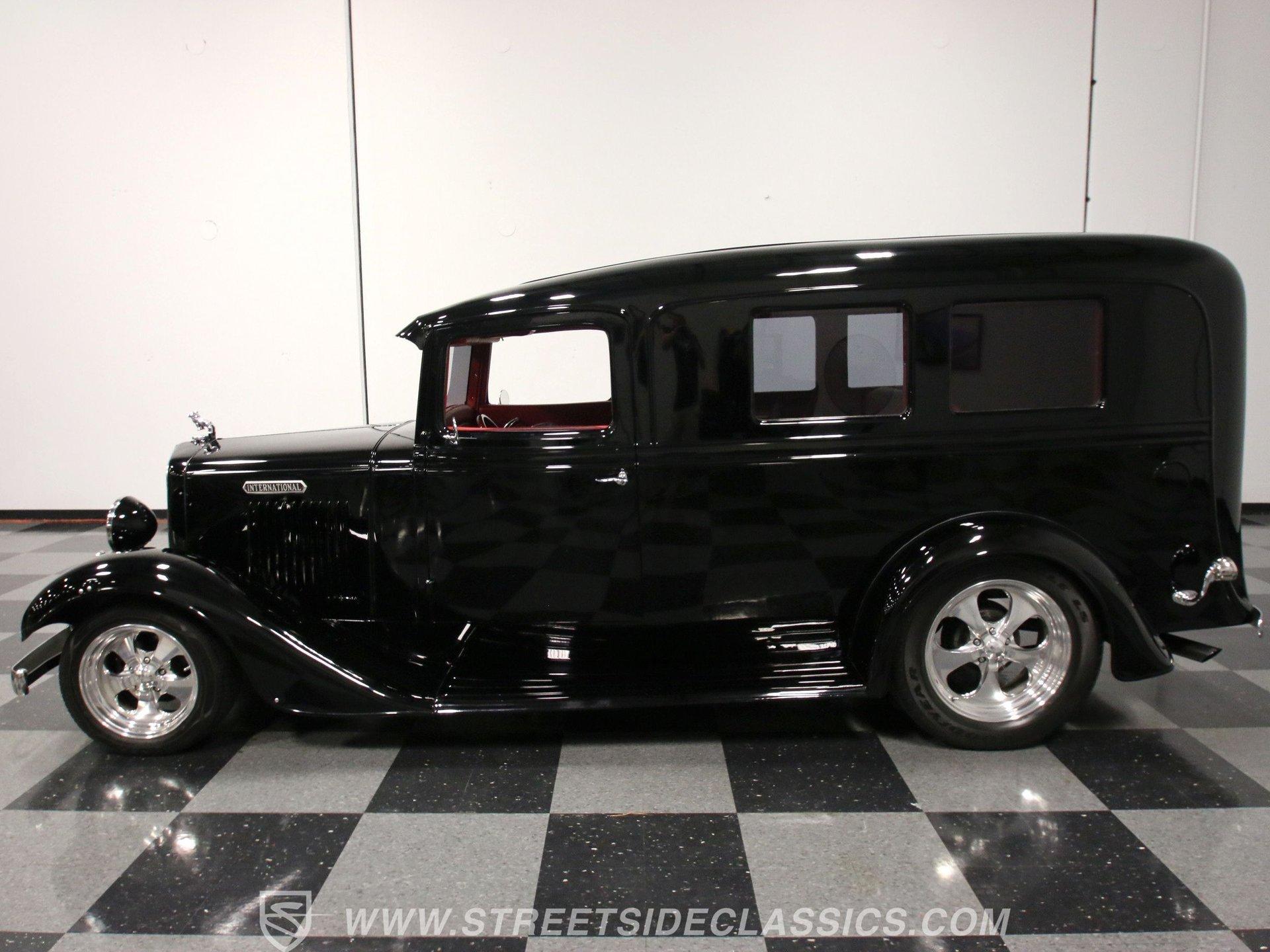 1935 international c 1 de luxe flower wagon