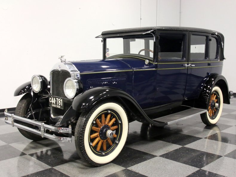 For Sale: 1928 Buick Town Brougham