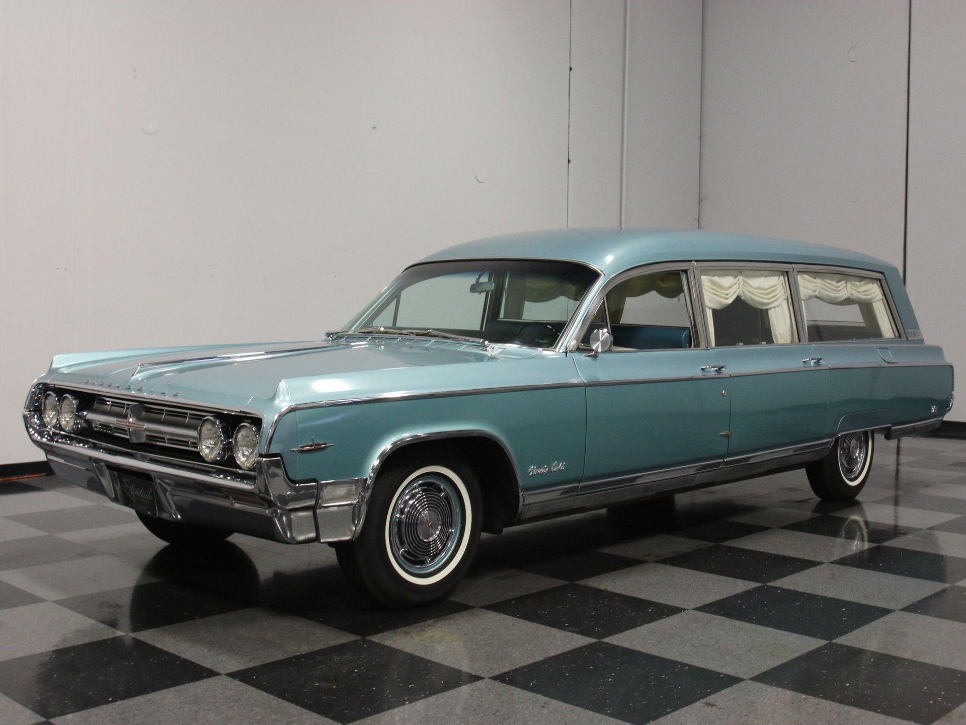 1964 oldsmobile 98 hearse