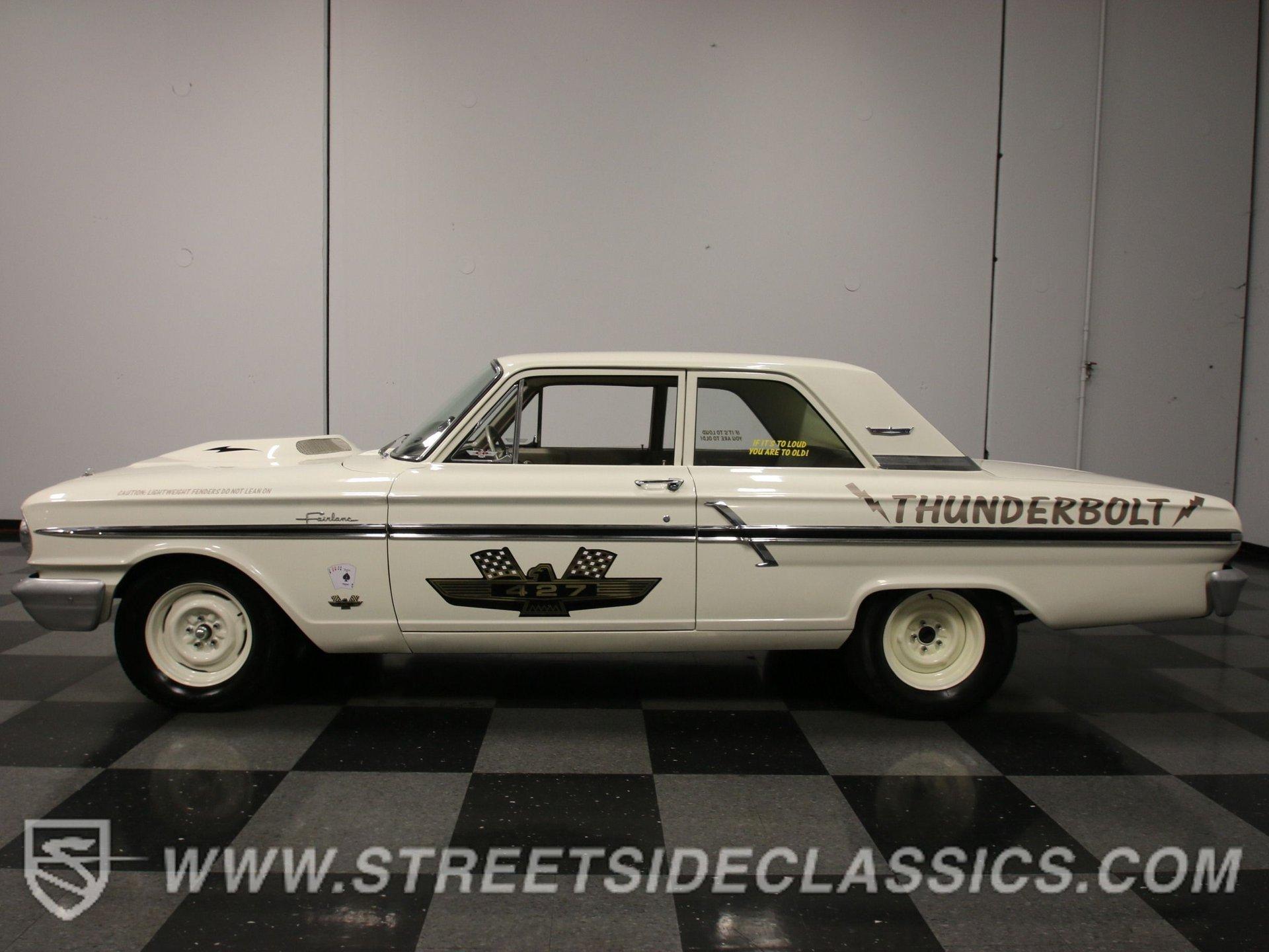 1964 ford fairlane thunderbolt tribute