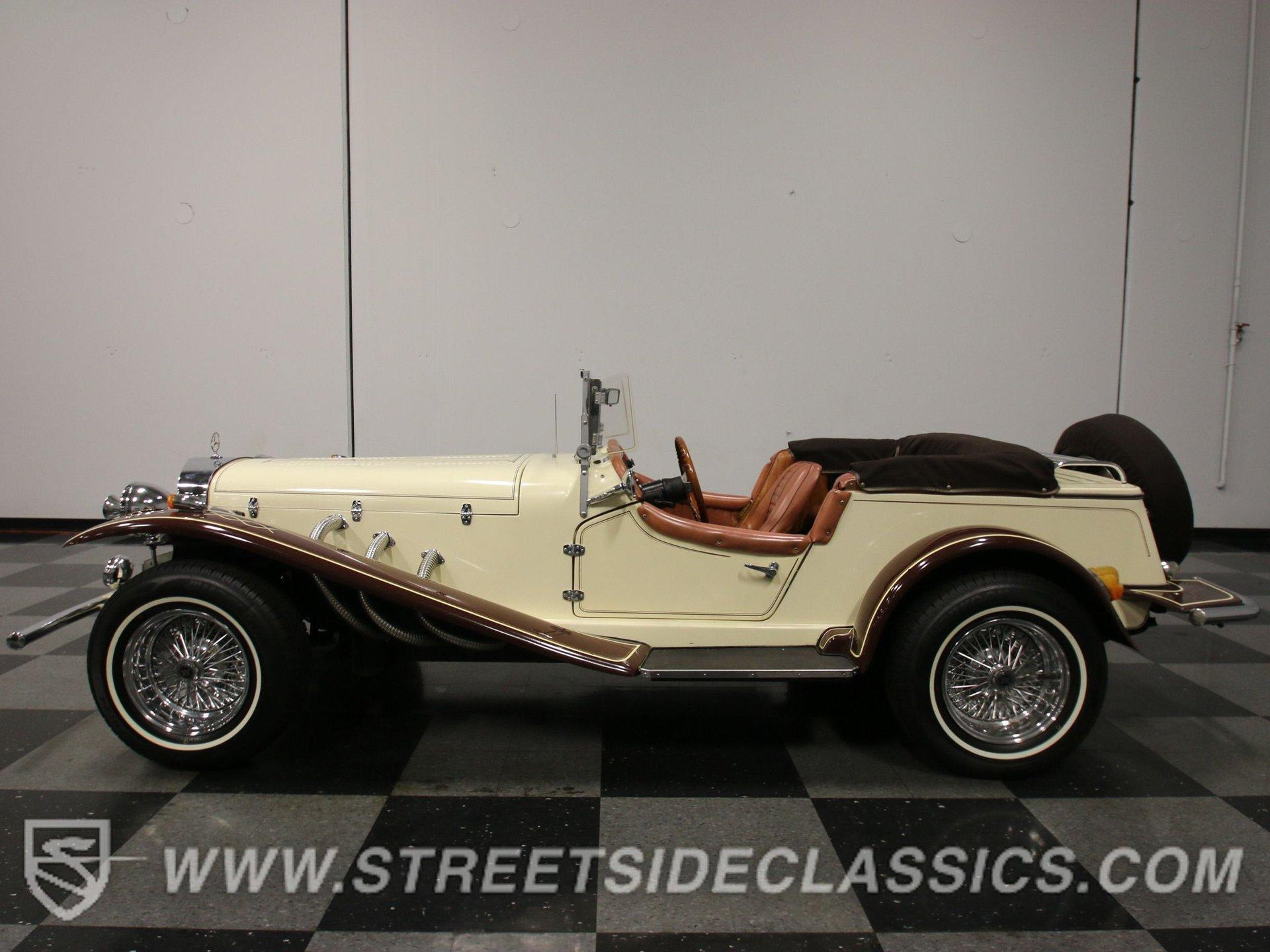 1929 mercedes benz gazelle replica