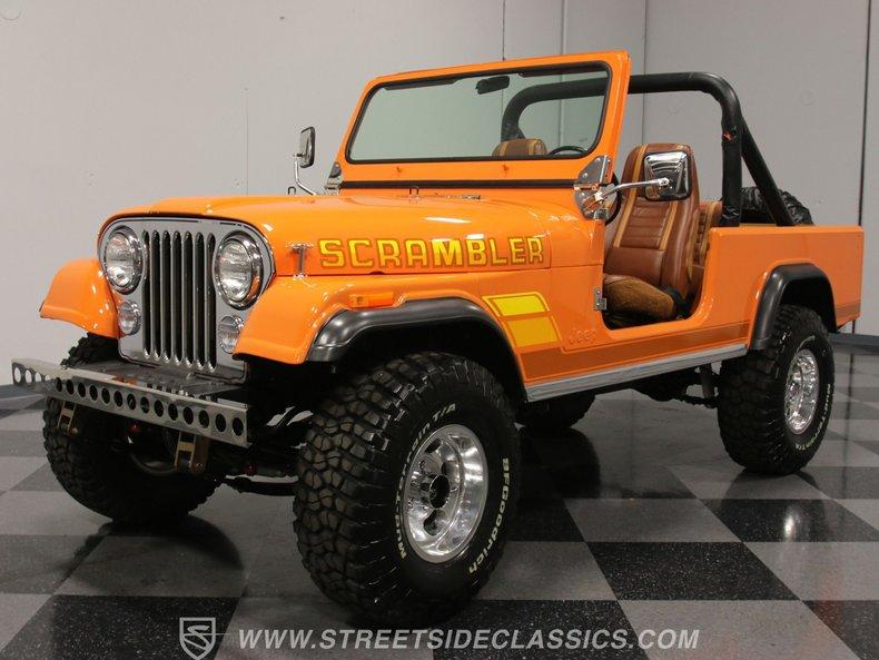 For Sale: 1981 Jeep CJ8