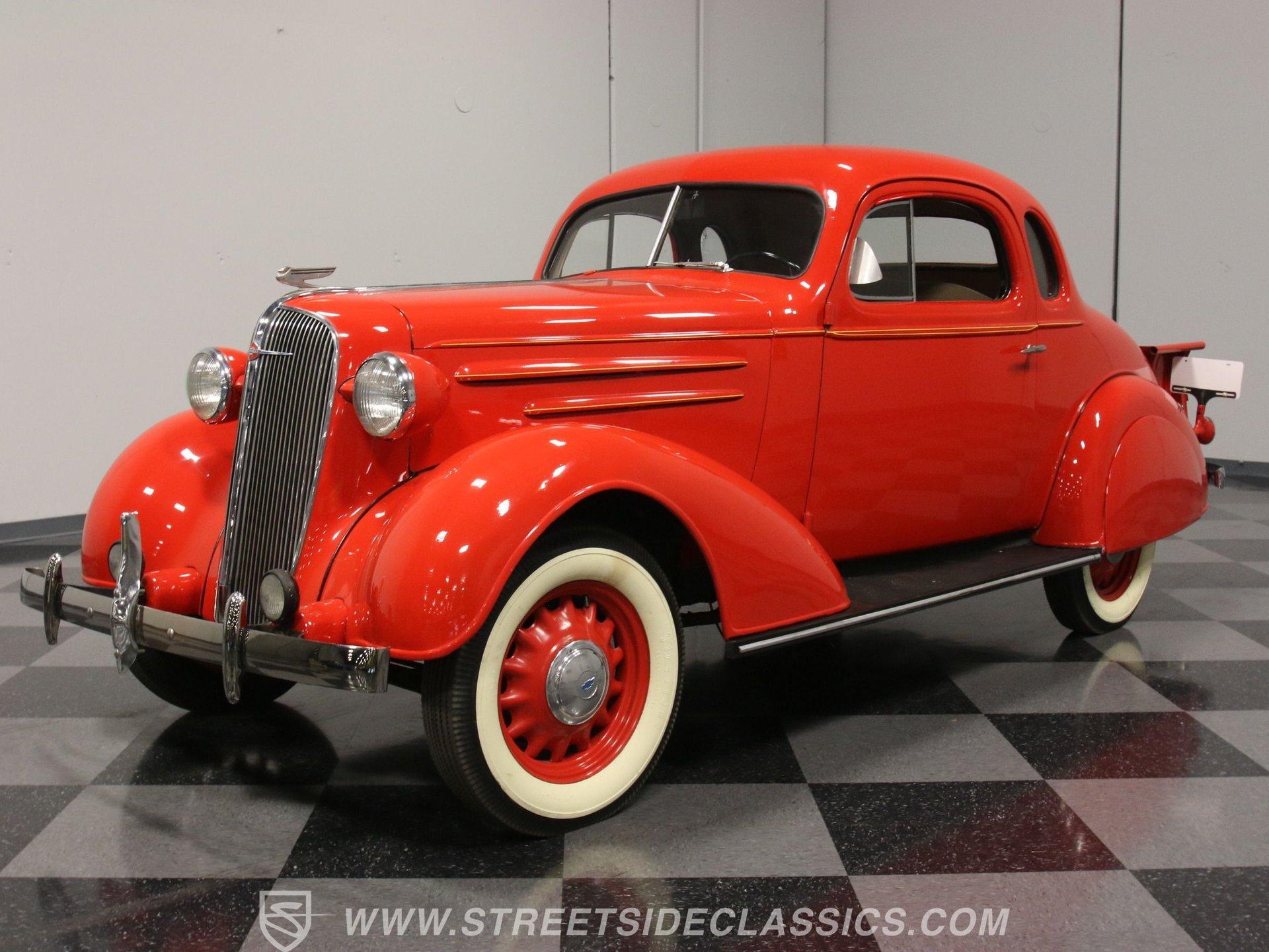 1936 chevrolet coupe ute