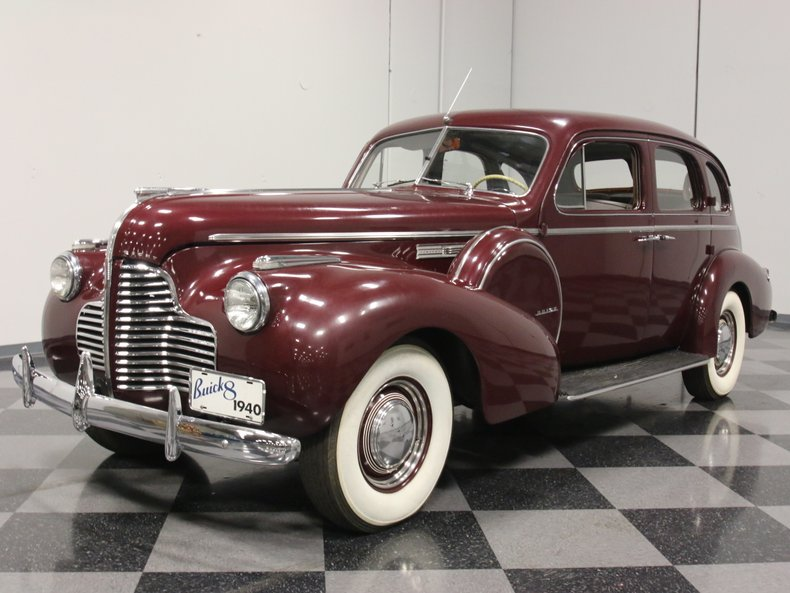 For Sale: 1940 Buick Limited