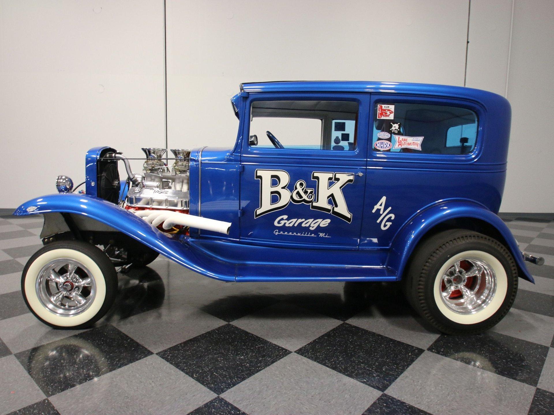 1930 chevrolet sedan streetrod