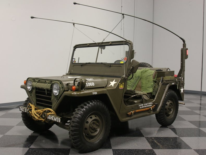 For Sale: 1967 Jeep M151A1