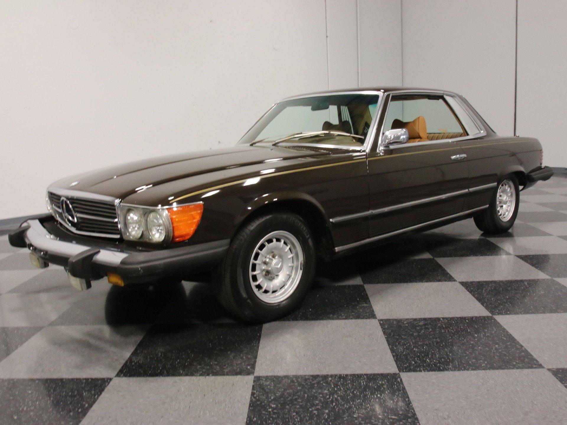 1974 mercedes benz 450slc