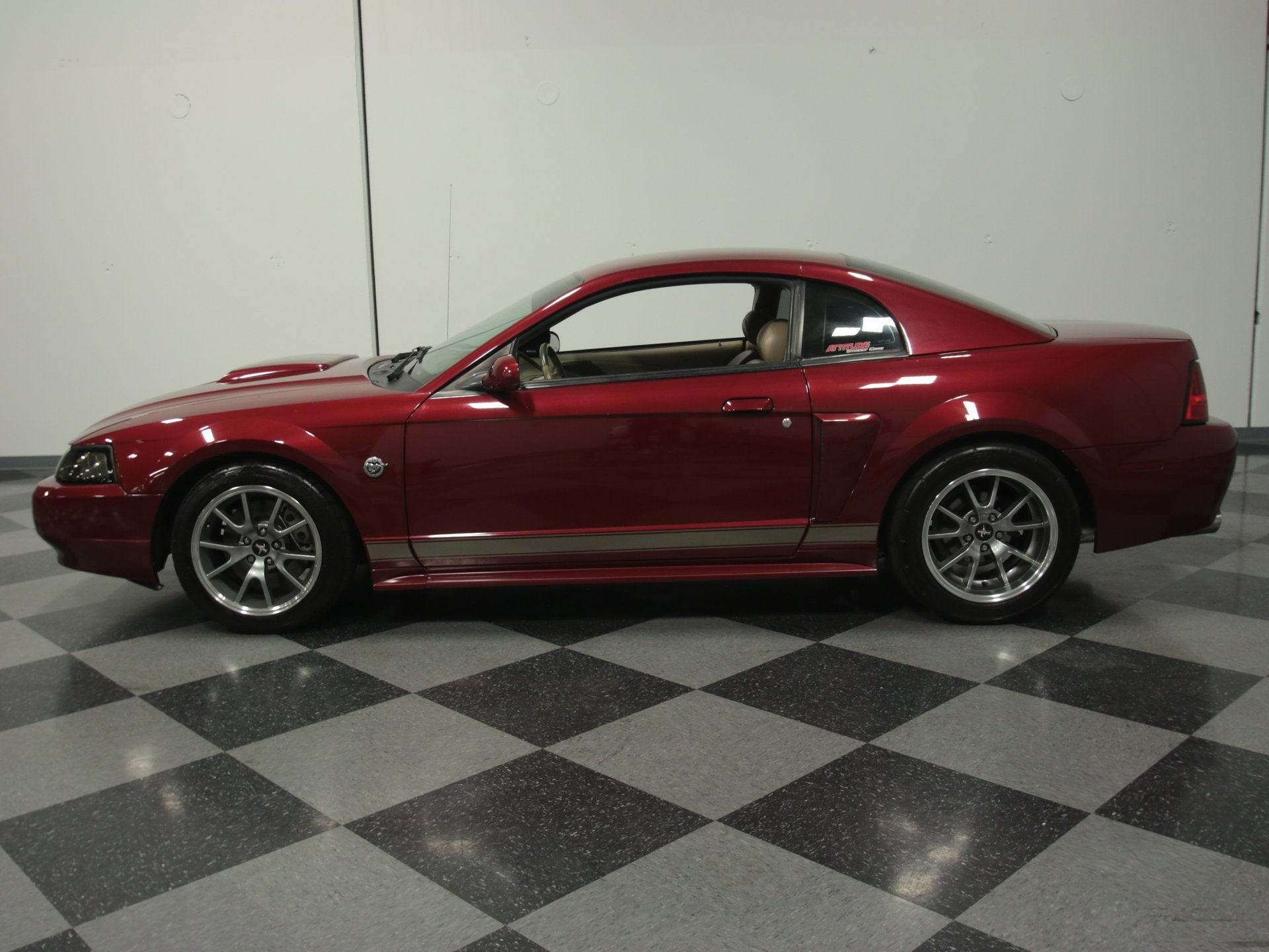 2004 ford mustang 40th anniversary stage 3