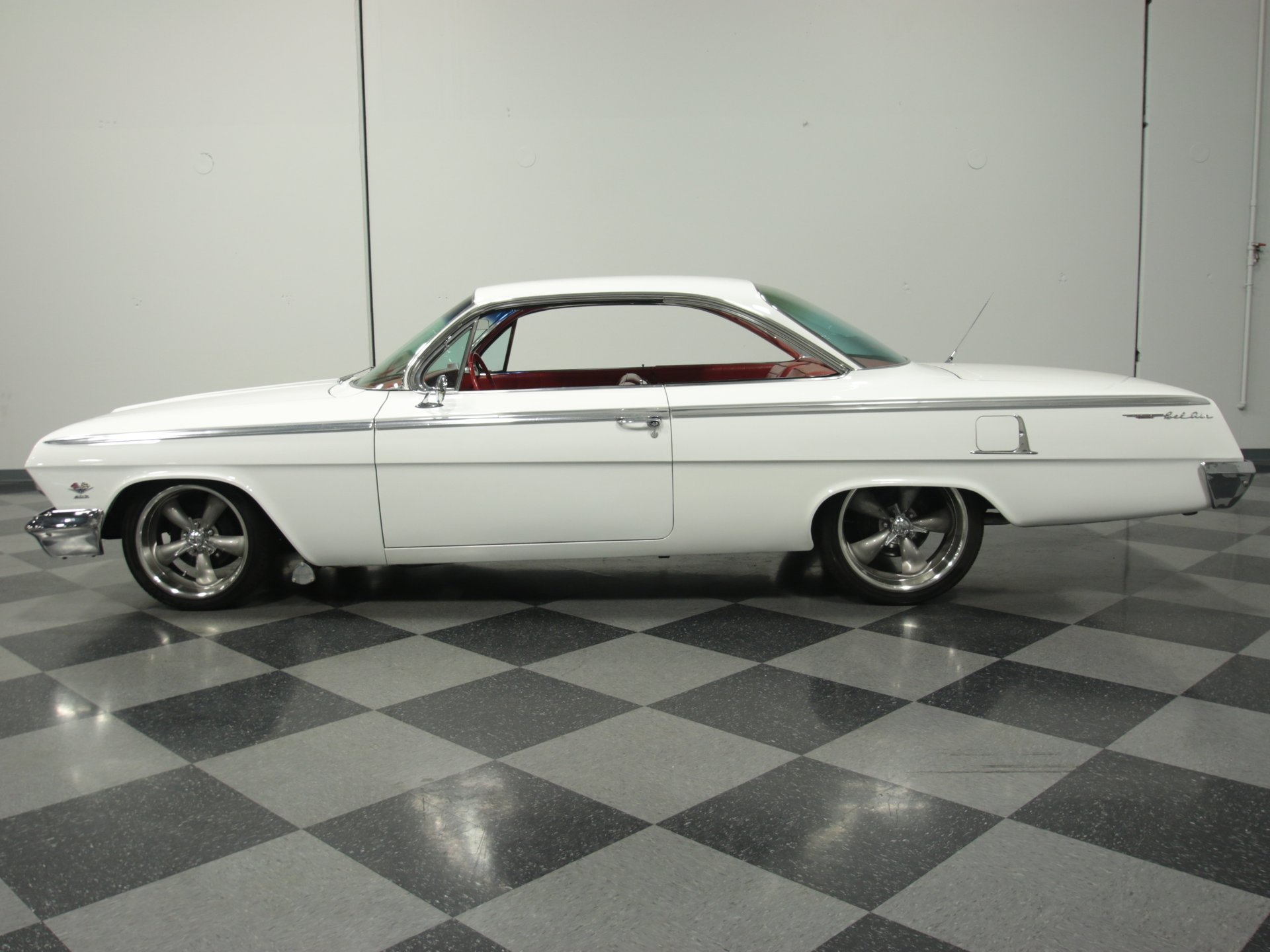 1962 chevrolet bel air bubble top 409