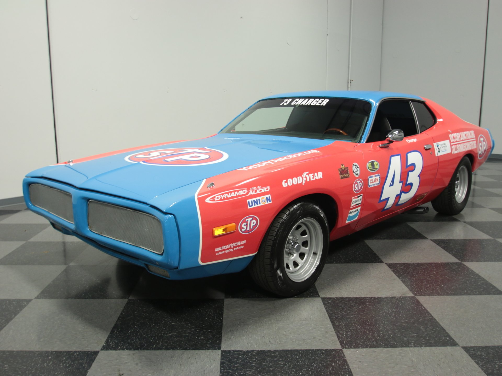 1973 dodge charger petty tribute